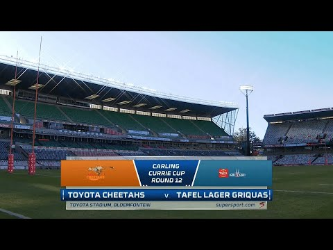 Currie Cup Premier Division   Round 12   Toyota Cheetahs v Tafel Lager Griquas   Highlights