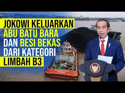 Jokowi Keluarkan Abu Batu Bara dan Besi Bekas dari Kategori Limbah B3