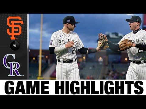 Giants vs. Rockies Game 2 Highlights (5/4/21) | MLB Highlights