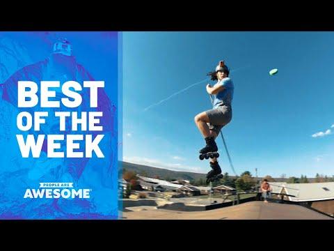 Extreme Hockey, Aerial Spins, Cyr Wheel Tricks & More | Best of the Week