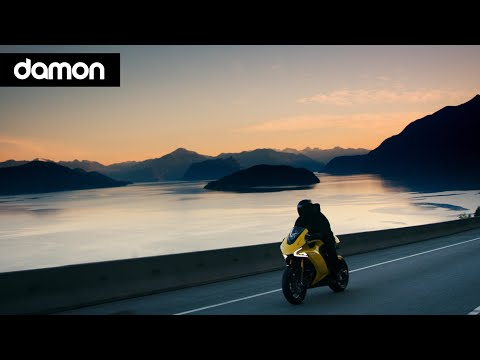 Damon Hypersport e-motorcycle trailer