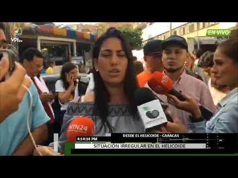 Venezuela- Reclusos denuncian fuerte represión dentro del Helicoide -VPItv