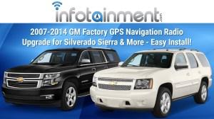 GM Factory Navigation GPS System Installation Tahoe Yukon Sierra Silverado Suburban H2  YouTube