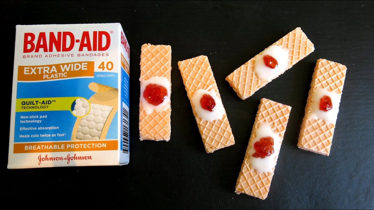 Band-Aid Cookies. Source: Simple Cooking Channel (YouTube)