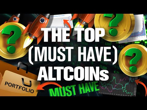 """Crypto Portfolio """"Must Have"""" ALTCOINs Revealed💥🚀"""