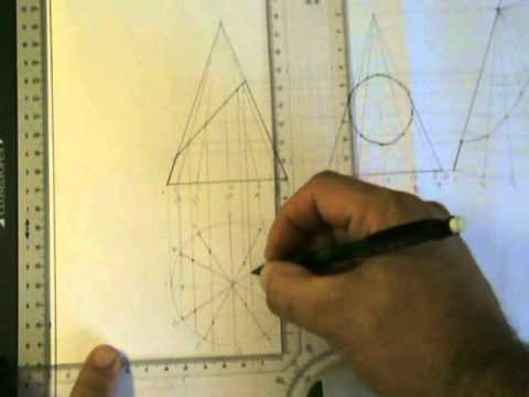 Development And True Shape Of Truncated Cone Part 2 James Cassar YouTube