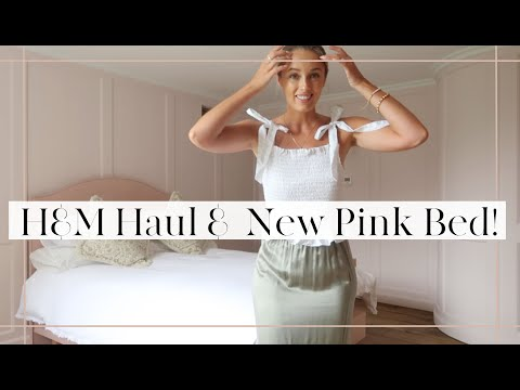H&M Haul, New PINK! Bed & Confetti Fields!