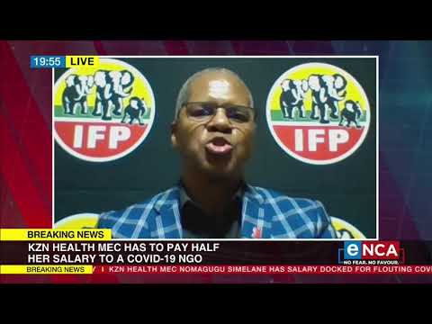 Health MEC given seven days to apologise