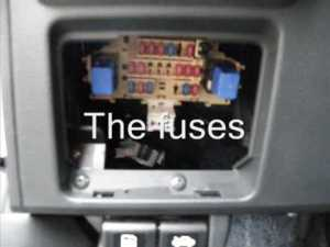 Week 14: Where are the Fuses in my Nissan Versa?  YouTube