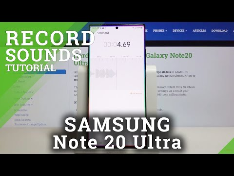 How to Record Screen in SAMSUNG Galaxy Note 20 Ultra – Save Screen Content