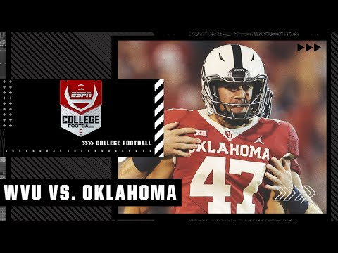 West Virginia Mountaineers at Oklahoma Sooners   Full Game Highlights