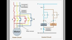 Control circuit for forward and reverse motor  YouTube