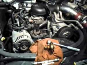 Thermostat replacement in the s10, 43  YouTube