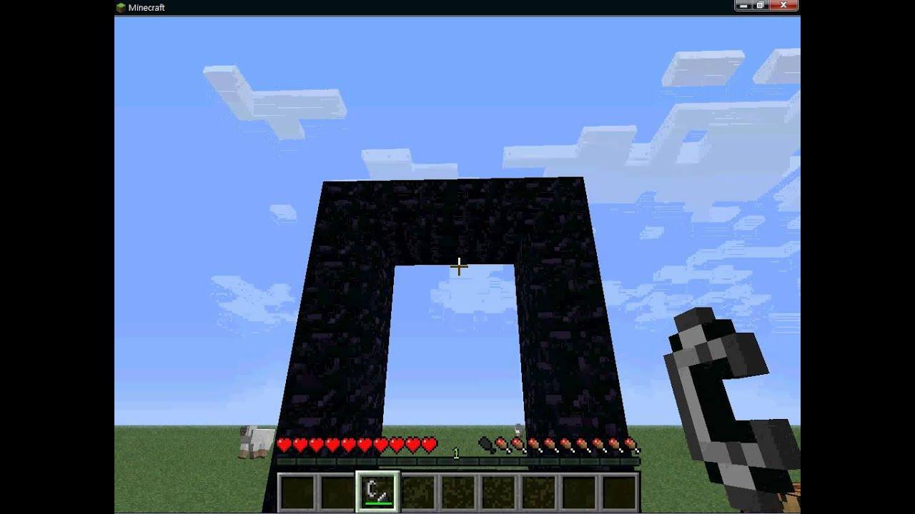 minecraft地獄門製作 - YouTube