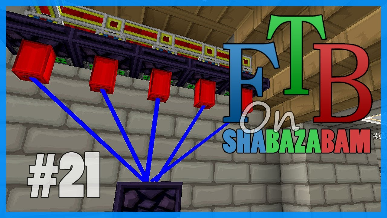 Minecraft FTB Ep21 Autarchic Gates And Refinery YouTube