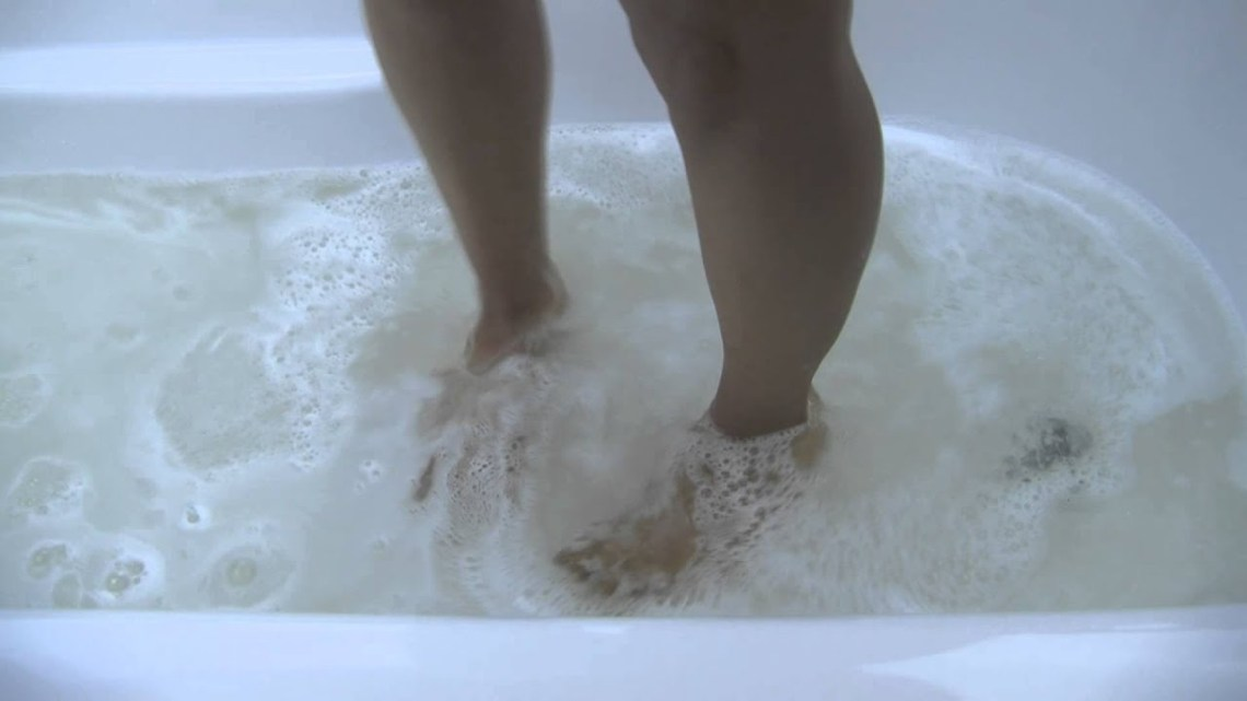 Image Result For Completely Clogged Bathtub