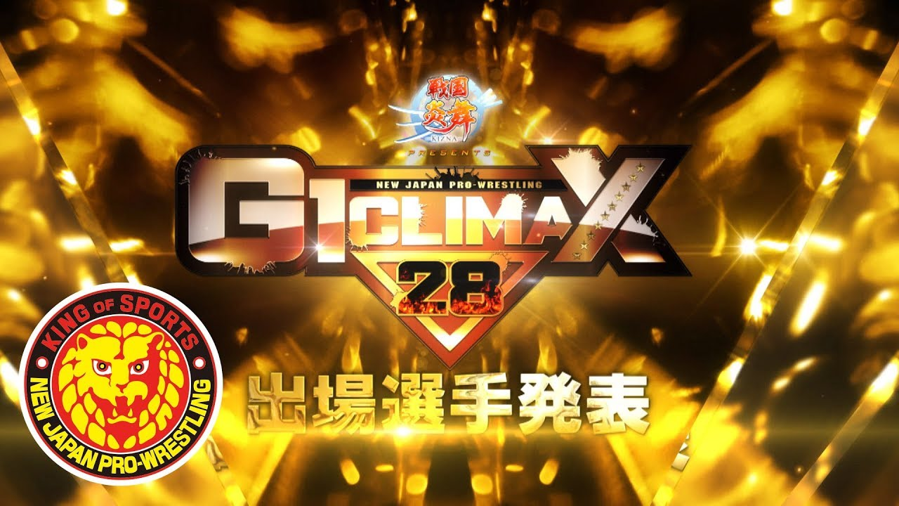 Image result for njpw g1 climax 2018