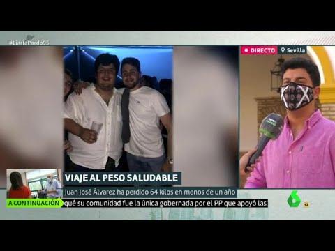 El mensaje de superación de Juan José tras perder 63 kilos en menos de un año - Liarla Pardo