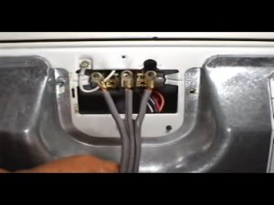 3 prongs power cord installing Whirlpool 29 inch electric dryer  YouTube