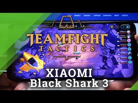 Teamfight Tactics Mobile Gameplay on Xiaomi Black Shark 3 - TFT Efficient Test