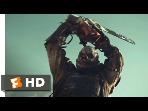 Zombie Hunter (2013) - Psycho Clown Killer Scene (9/10) | Movieclips