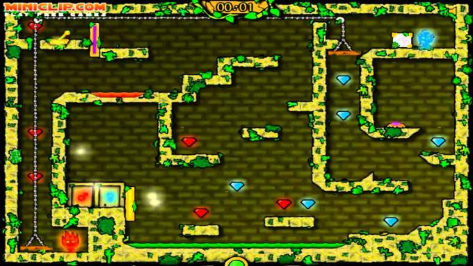 Fireboy and Watergirl 2 in Light Temple Cool Math Level 17 ...  Cool Math Games Fireboy And Watergirl