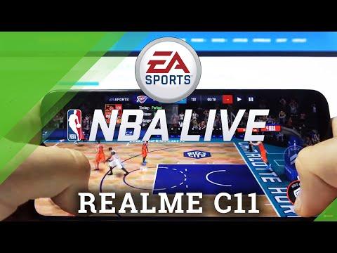NBA Mobile on REALME C11 - Gameplay