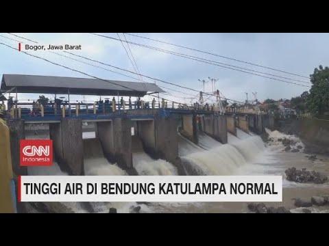 Tinggi Air Bendung Katulampa Normal