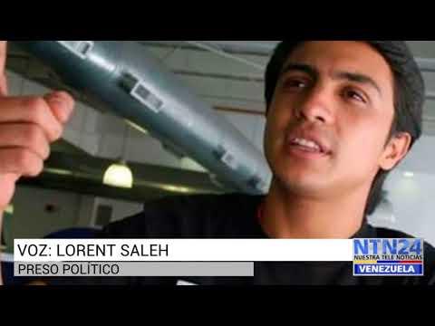 Filtran audio de Lorent Saleh desde el Sebin El Helicoide