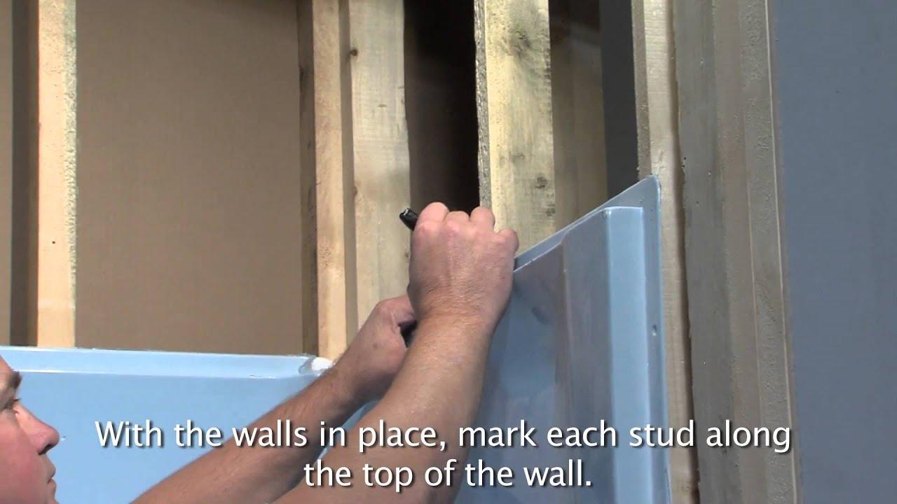 Lyons Victory Tub Amp Wall Installation YouTube