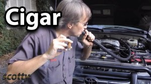 Finding Engine Vacuum Leaks With A Cigar  YouTube