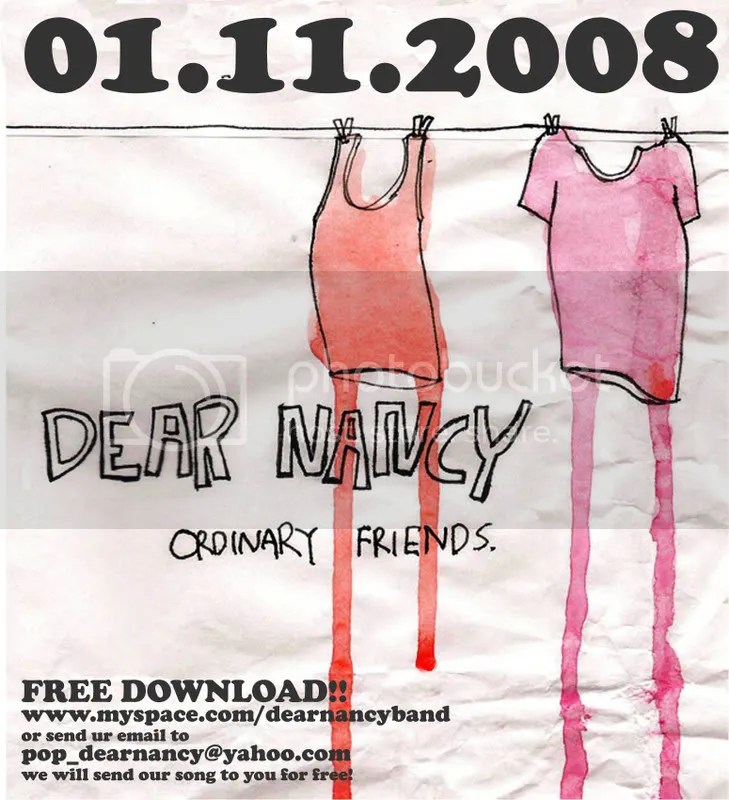 dear nancy cover