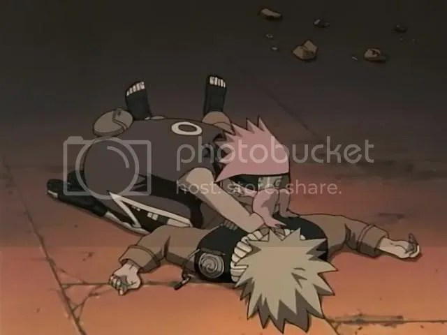 Sakura tot Naruto's dead after the HEART stunt pulled by the 'Kabuto'
