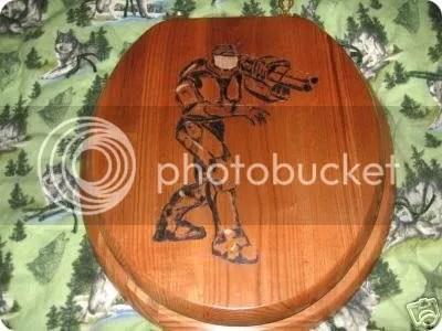 master chief toilet seat