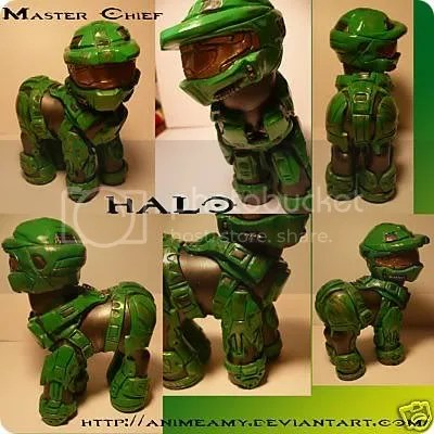 my little master chief pony