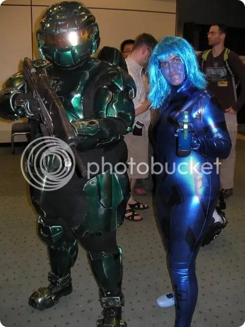 master chief and cortana cosplay