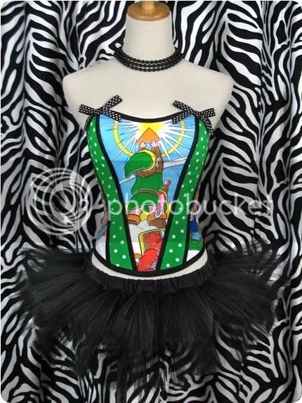 zelda corset