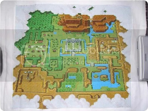 zelda cross-stitch