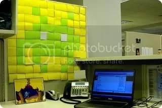 space invaders cubicle