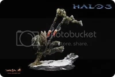 Master Chief And Flood