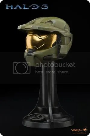 Master Chief's Mark VI Spartan Helmet
