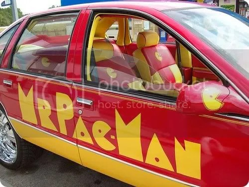 pac-man car