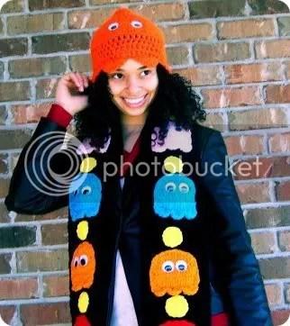 pac-man scarf