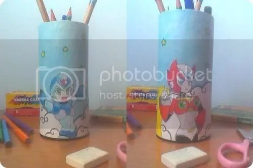 mega man pencil box