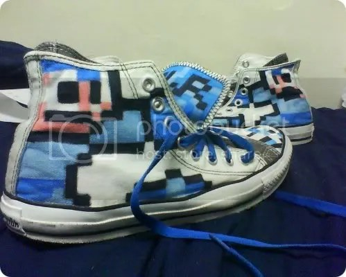 mega man shoes