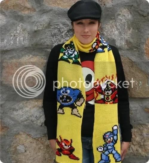 mega man scarf