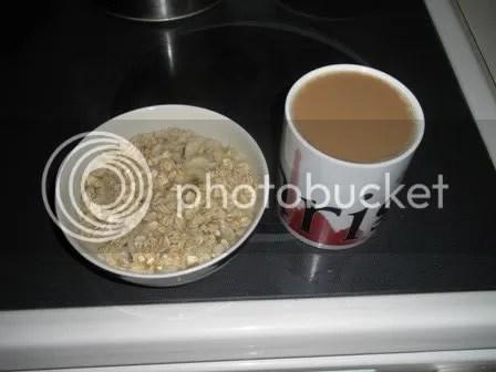 banana oatmeal & pumpkin coffee
