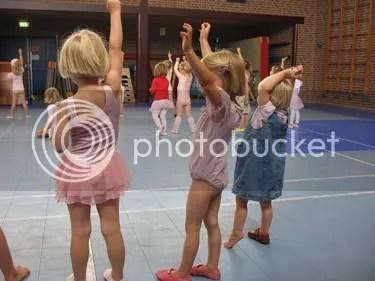 Dans voor het publiek.