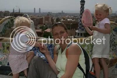 De drie meiden boven de stad...