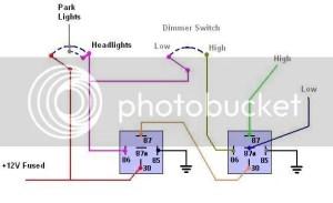 headlight relay mod : MGB & GT Forum : MG Experience